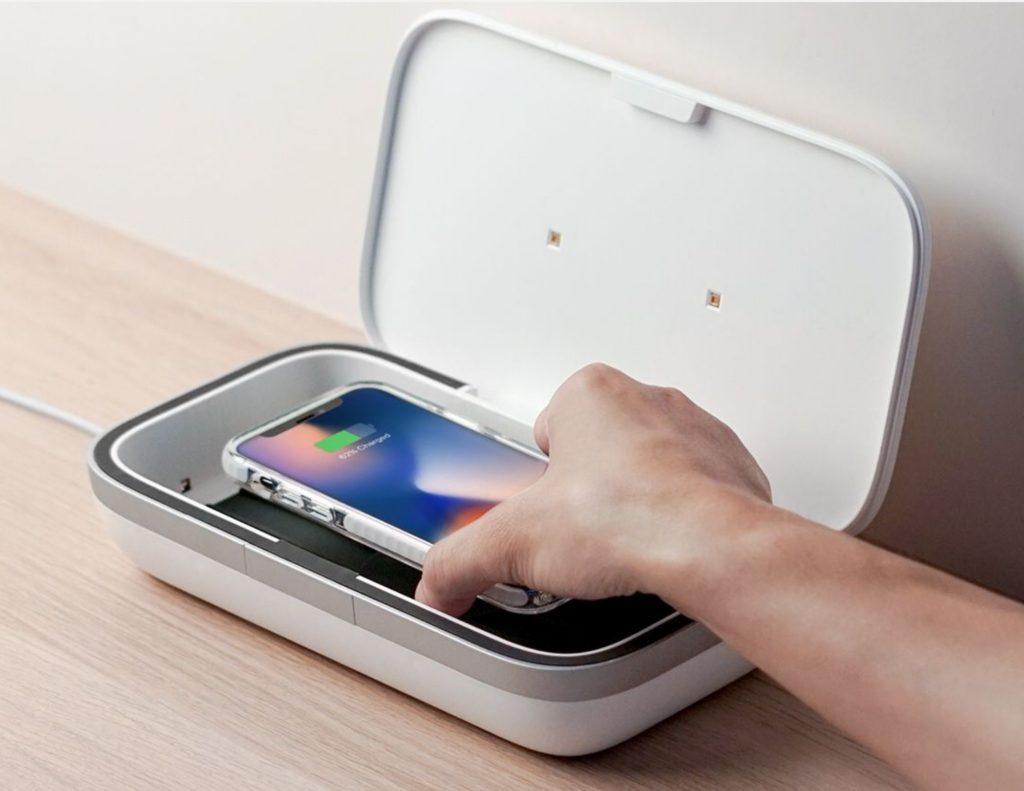 UV light phone box