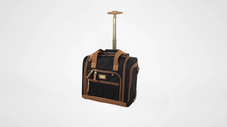 Steve Madden's Luggage Wheeled Underseat Bag
