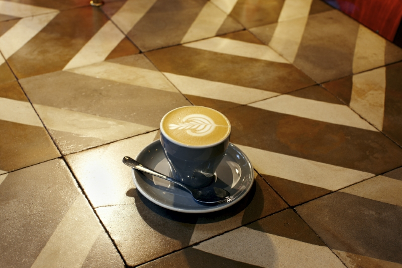 Flat white from The Association