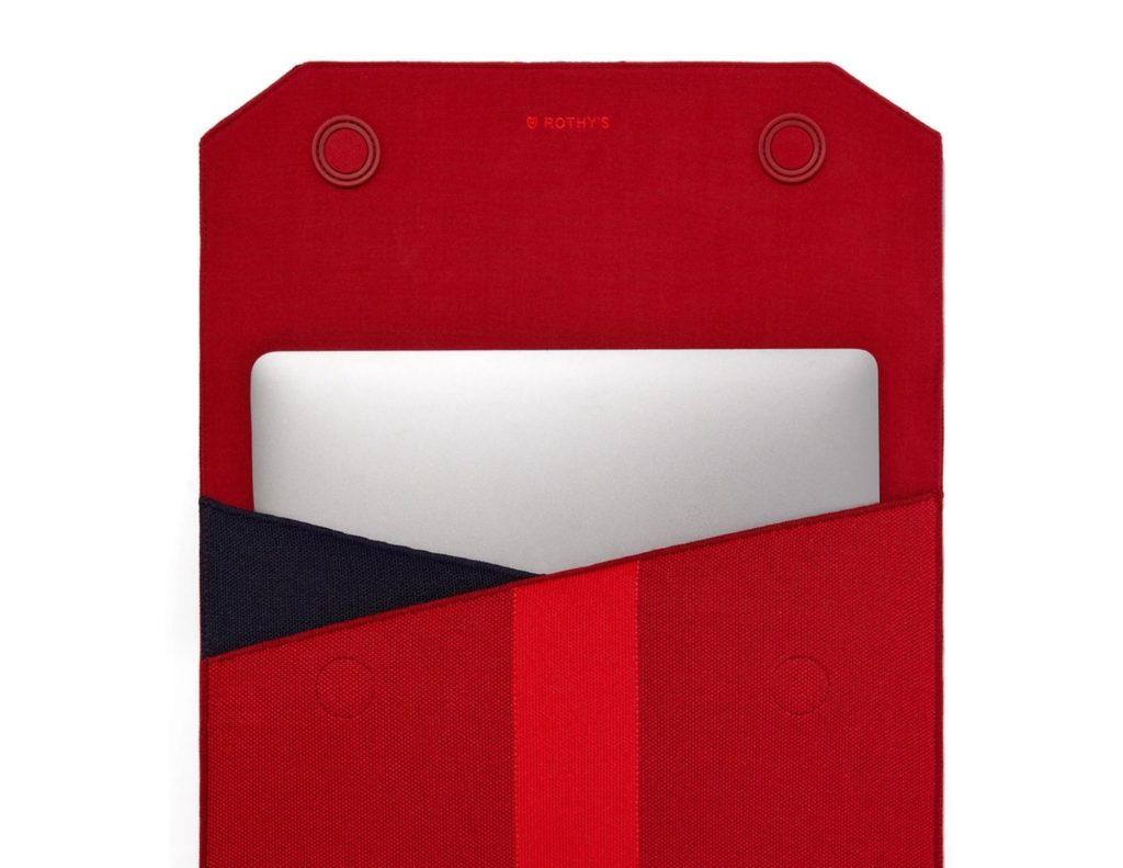 Sustainable porfolio laptop pouch