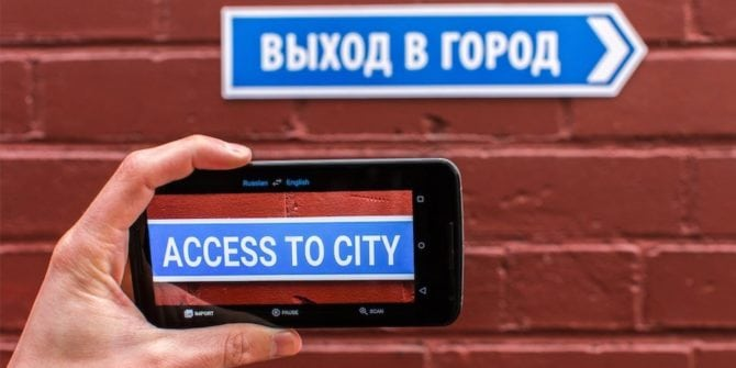Google Translate for business trips