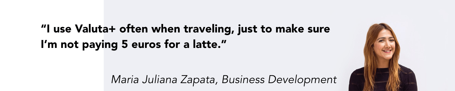 Valuta+ review for business travelers