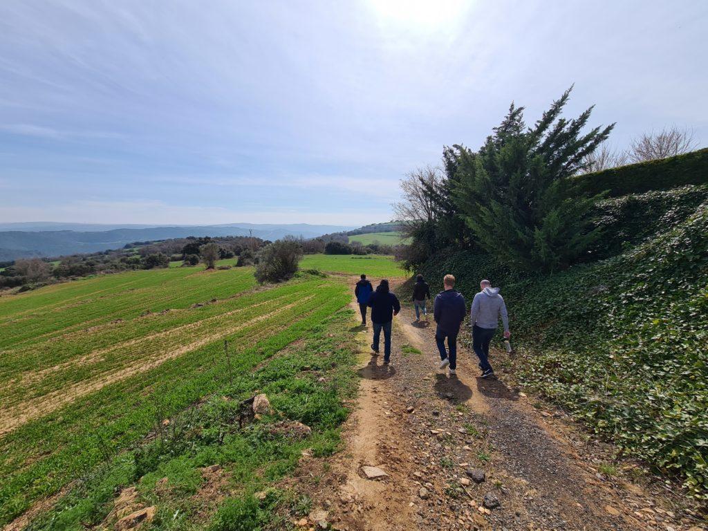 Beautiful nature walk