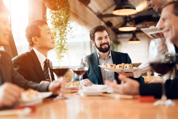 Why business lunches still matter so much