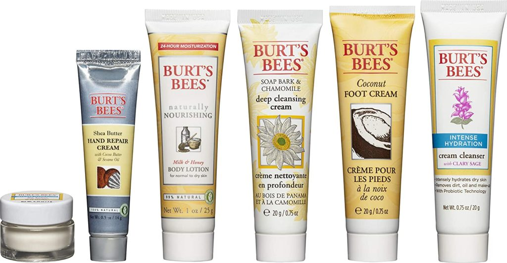 Burt's Bees mini travel set