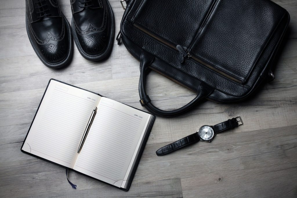 Business travel bag and accessories
