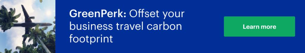 Offset carbon footprint
