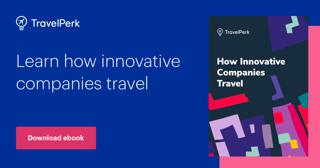 ebook about how innovative companies book business travel