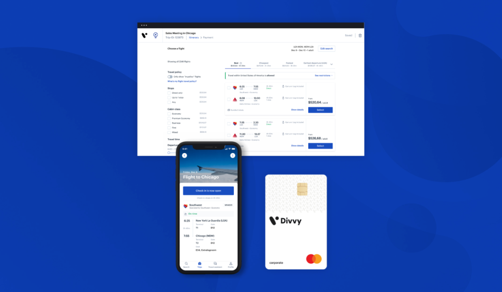 Travel and expenses app