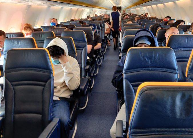 COVID flight