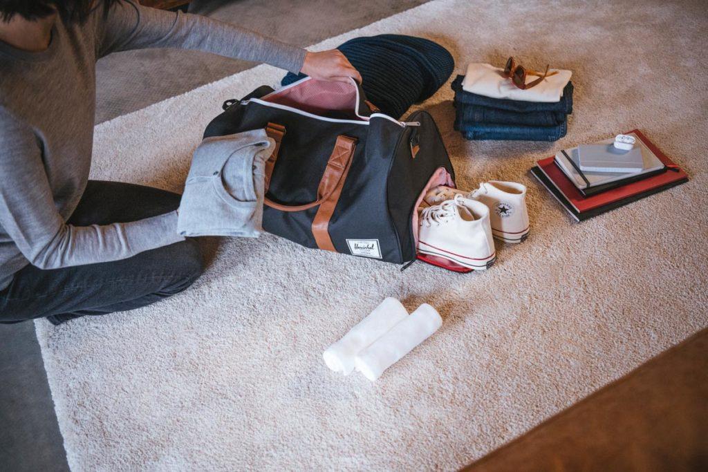 Hershel supply duffel