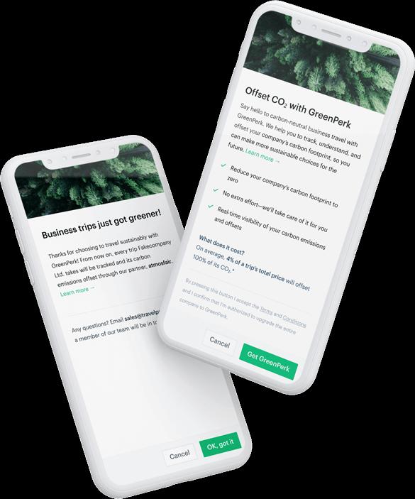 GreenPerk mobile app