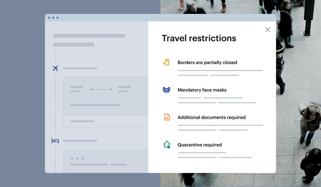 Traveler safety info COVID