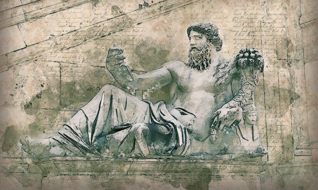 Roman statue when in Rome
