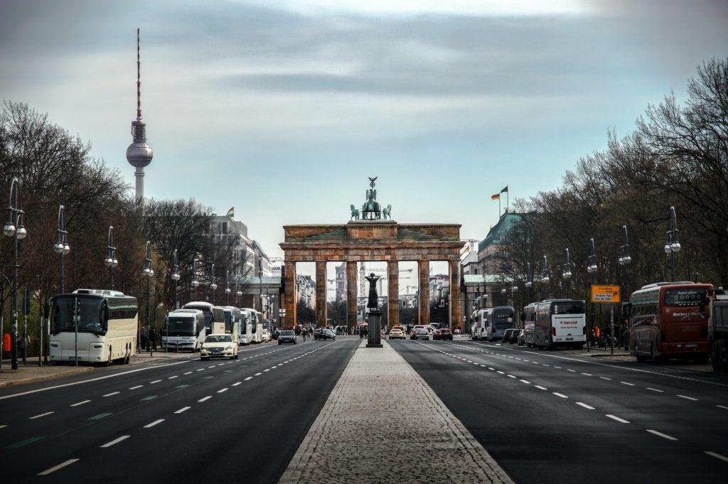 Berlin main road views