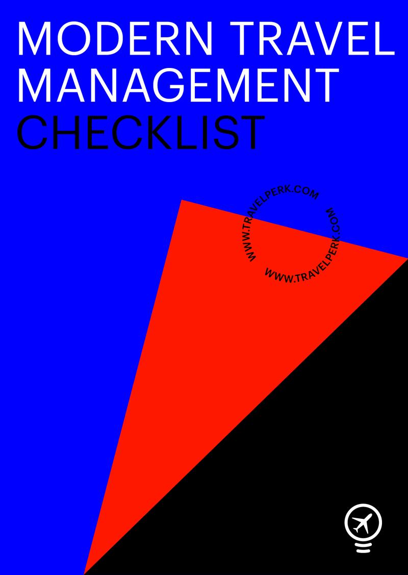 Modern travel management checklist