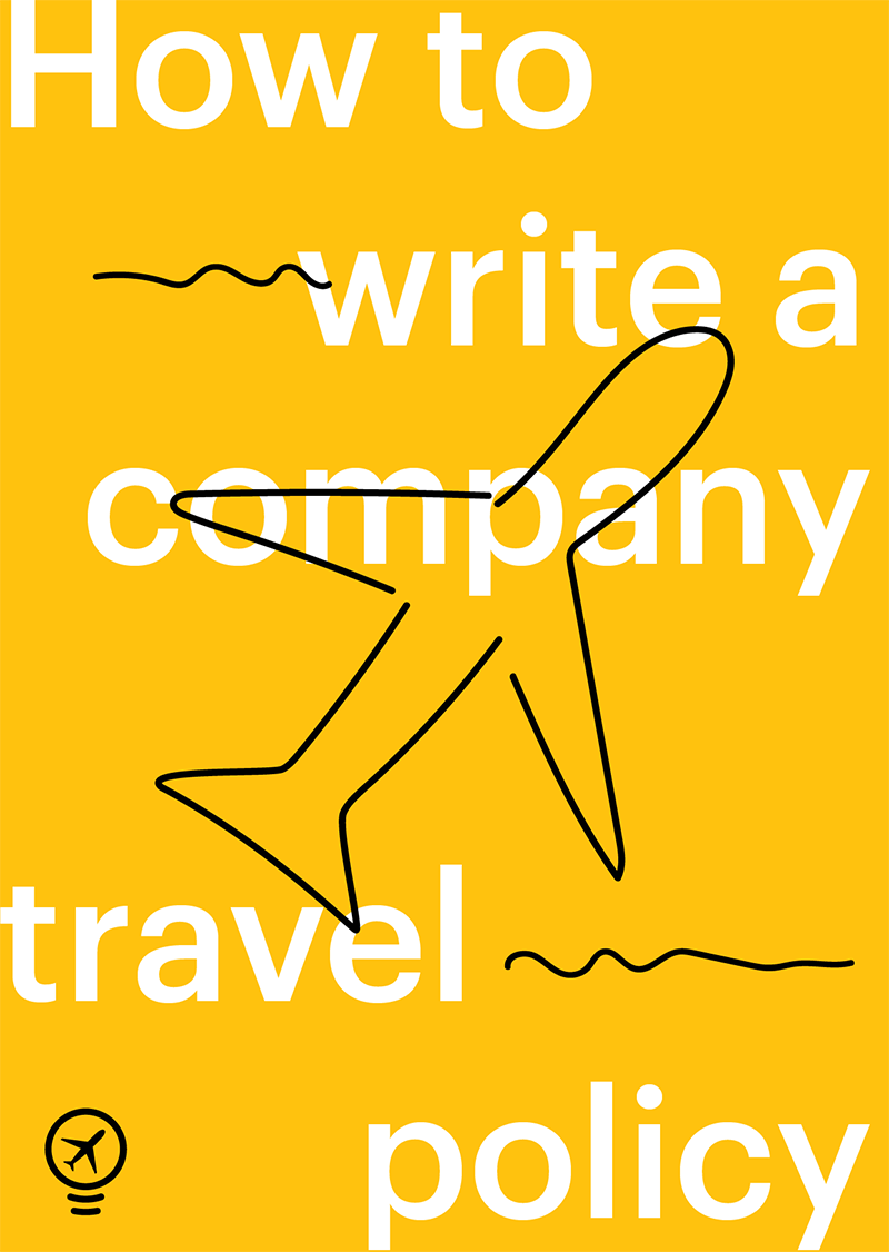 How to write a company travel policy