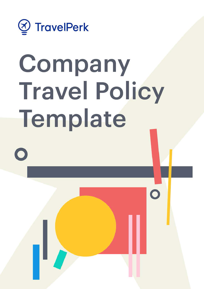 Customizable company travel policy template