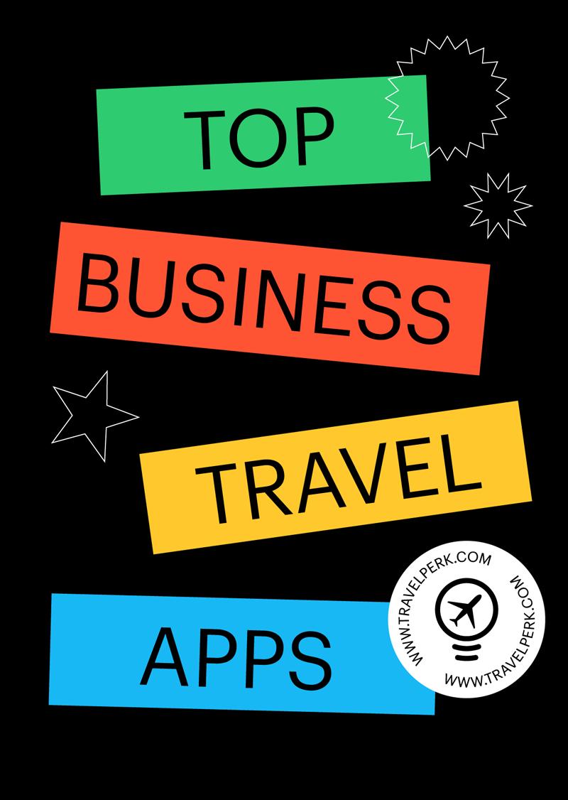 Principales applications pour les voyages d'affaires