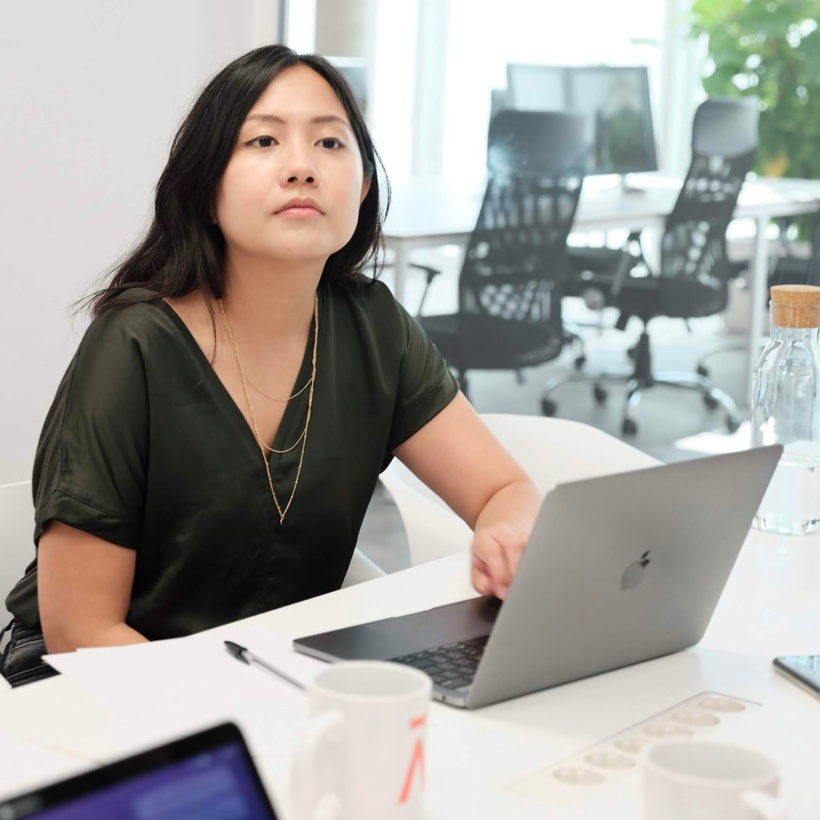 Young professional Asian woman
