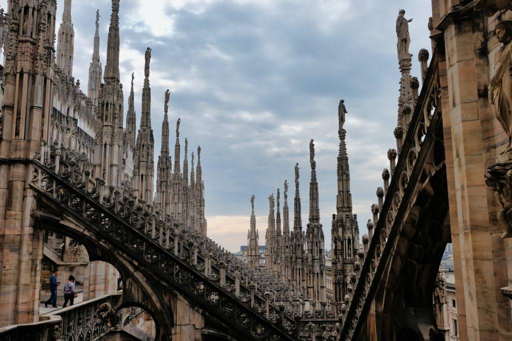 Milan Duomo views