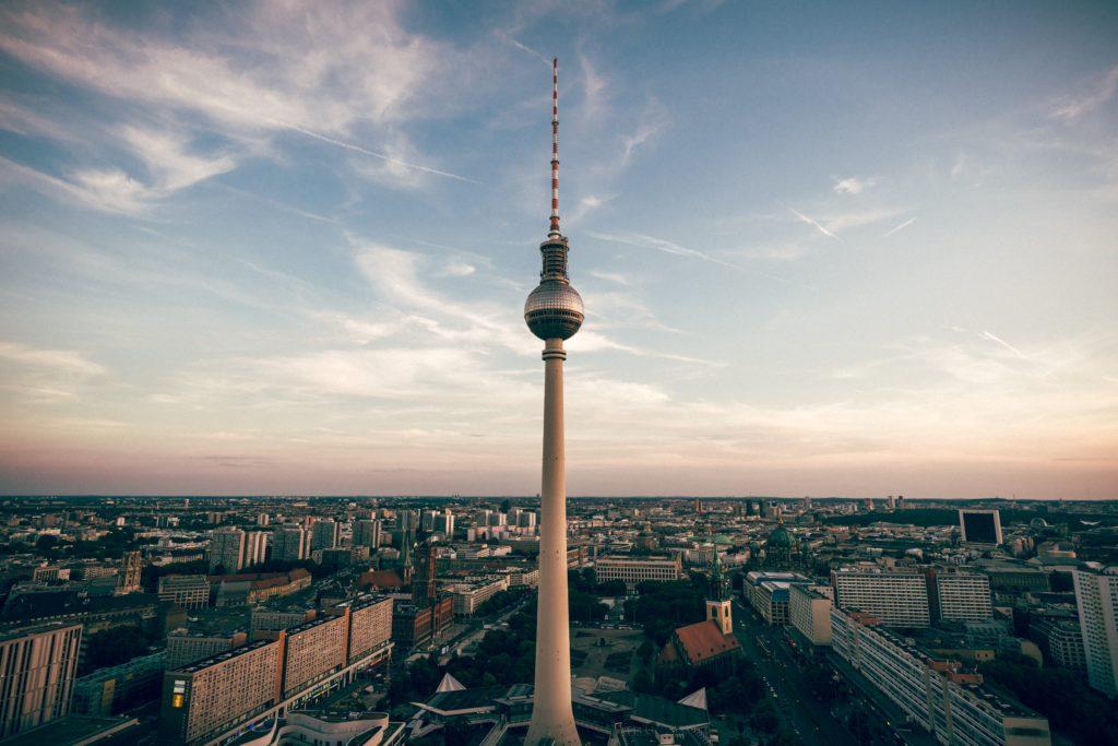 Berlin needle tower