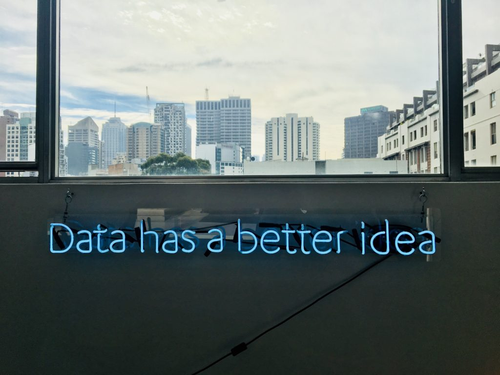 Data has a better idea in lights
