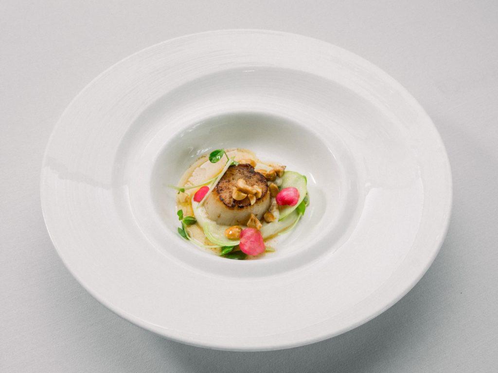 Haute cuisine cooking dish
