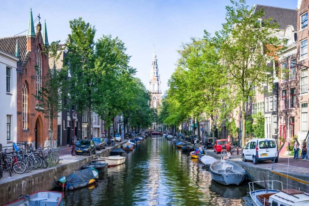Amsterdam river canal