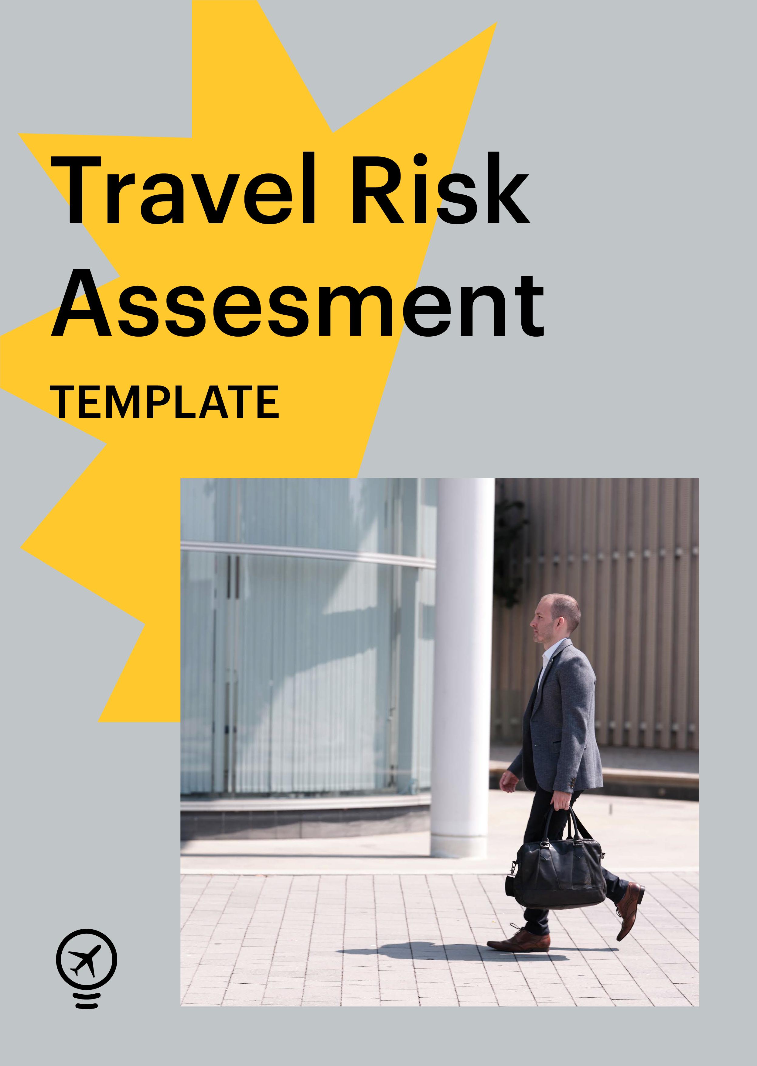 Travel risk assessment template