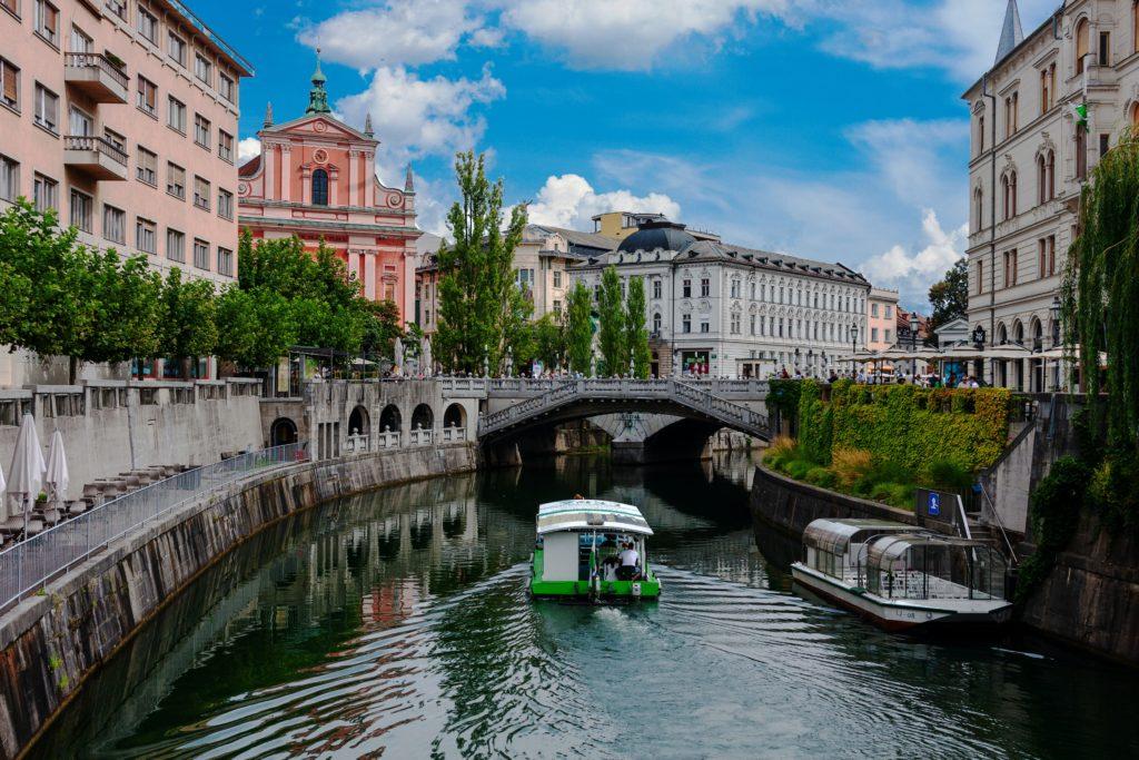 Ljubljana river views