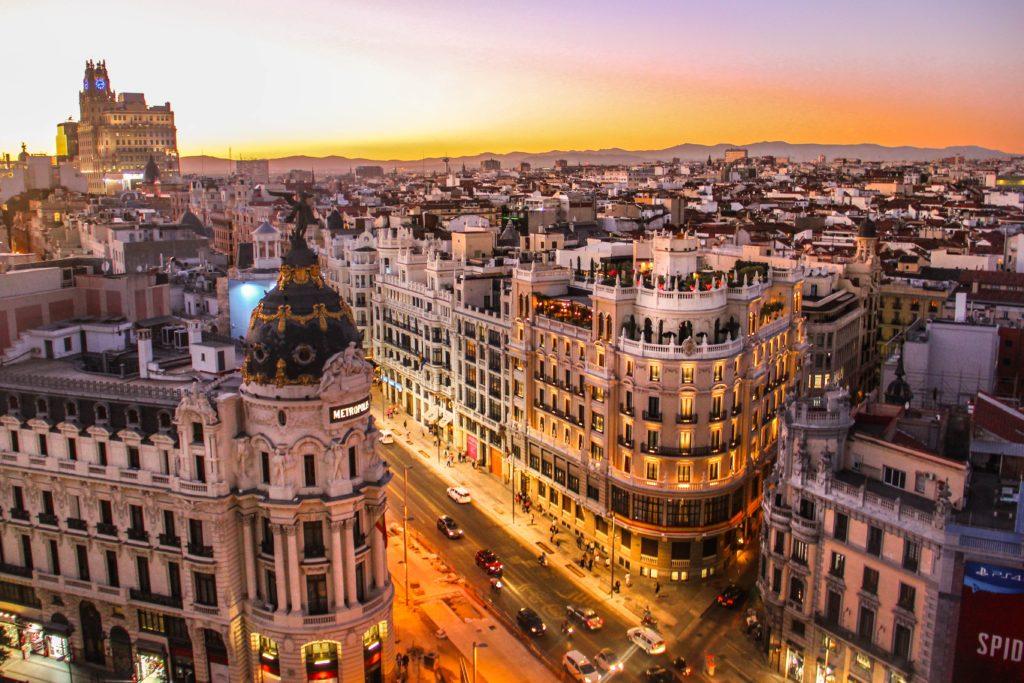 Madrid Metropolis view