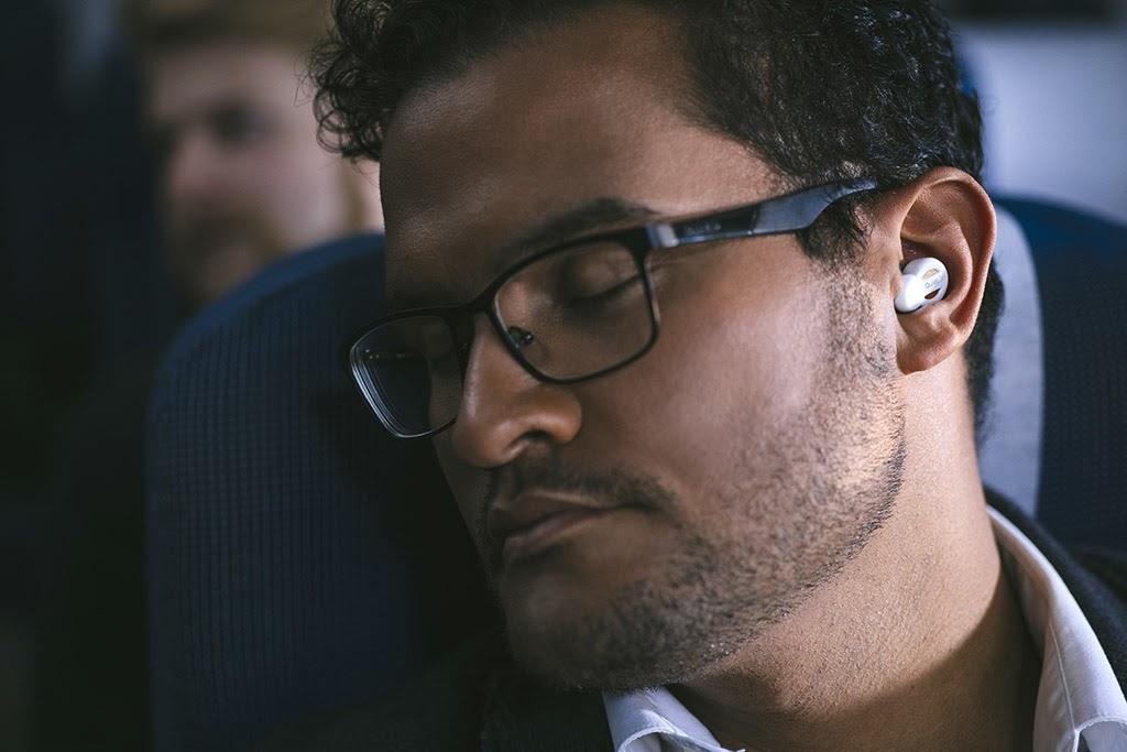 Quality in-flight sleep