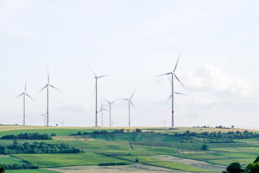 Green energy wind