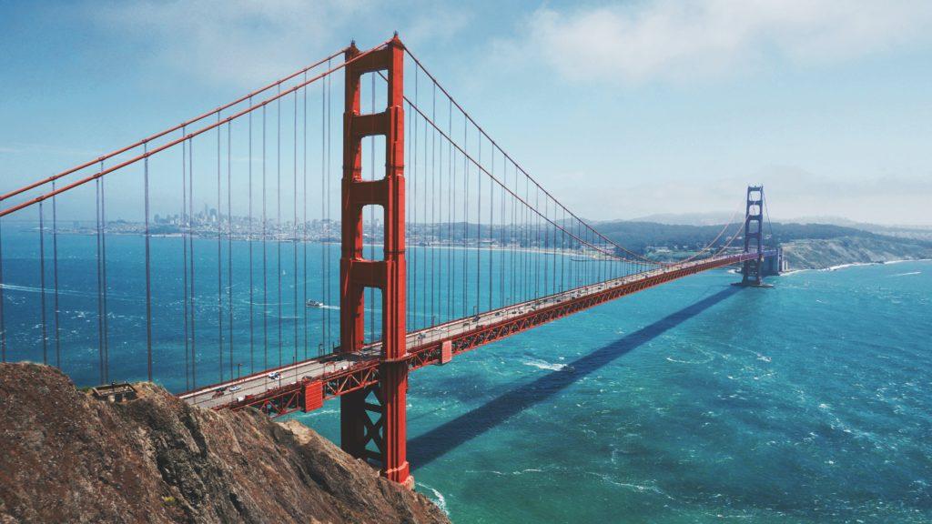 San Francisco bridge view