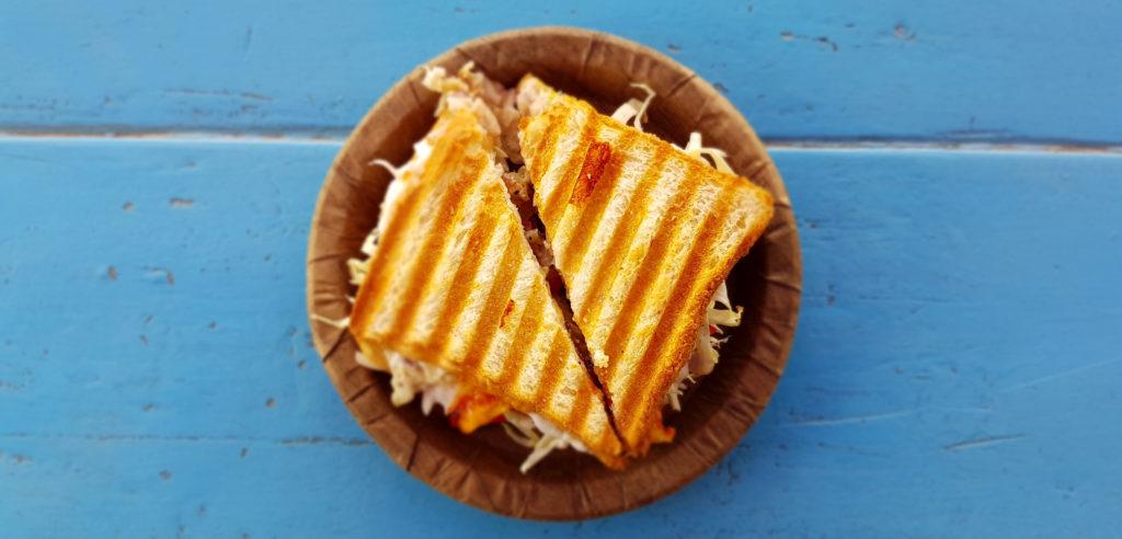Club sandwich blue
