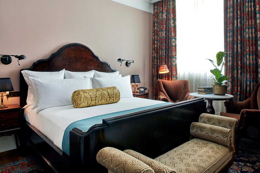 The Ned hotel bedroom