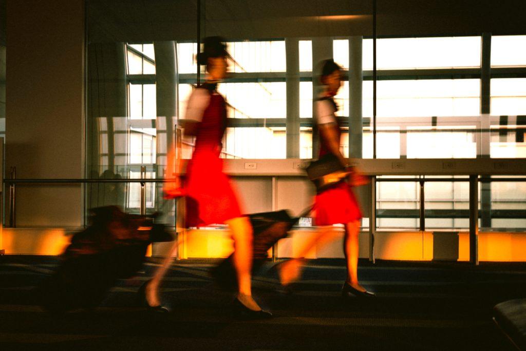 Air hostesses luxury