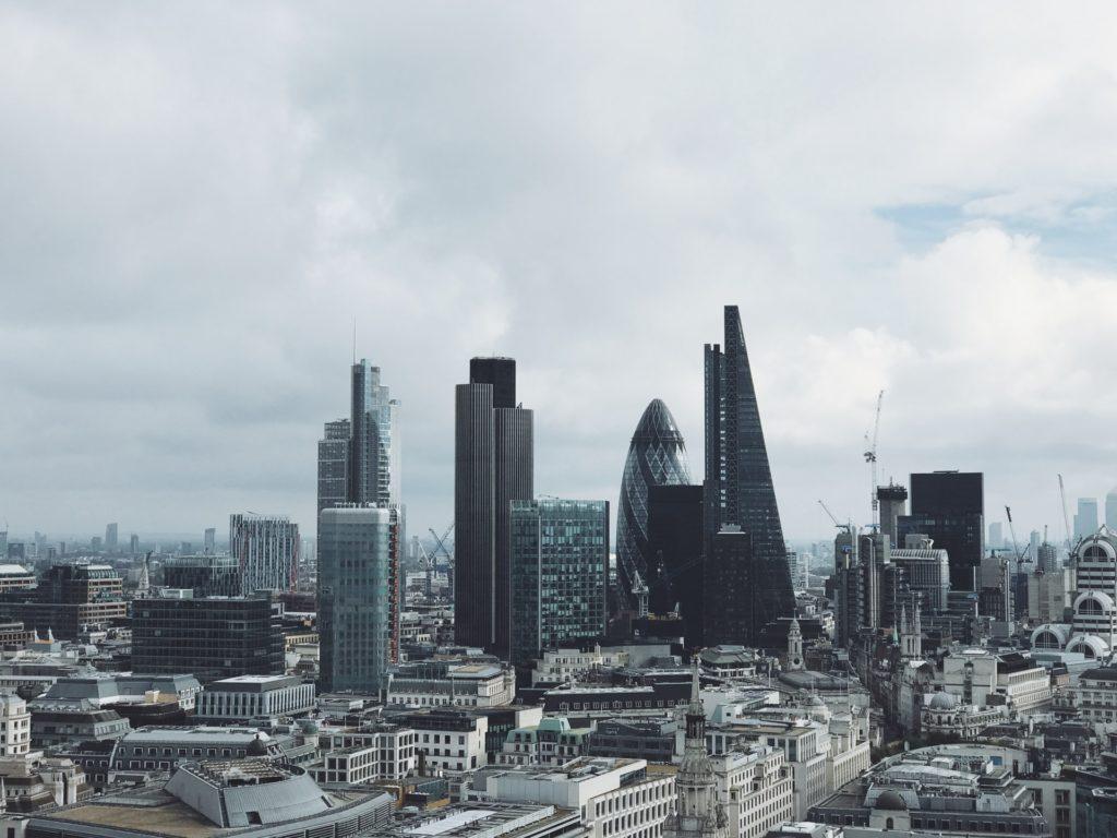 London business district