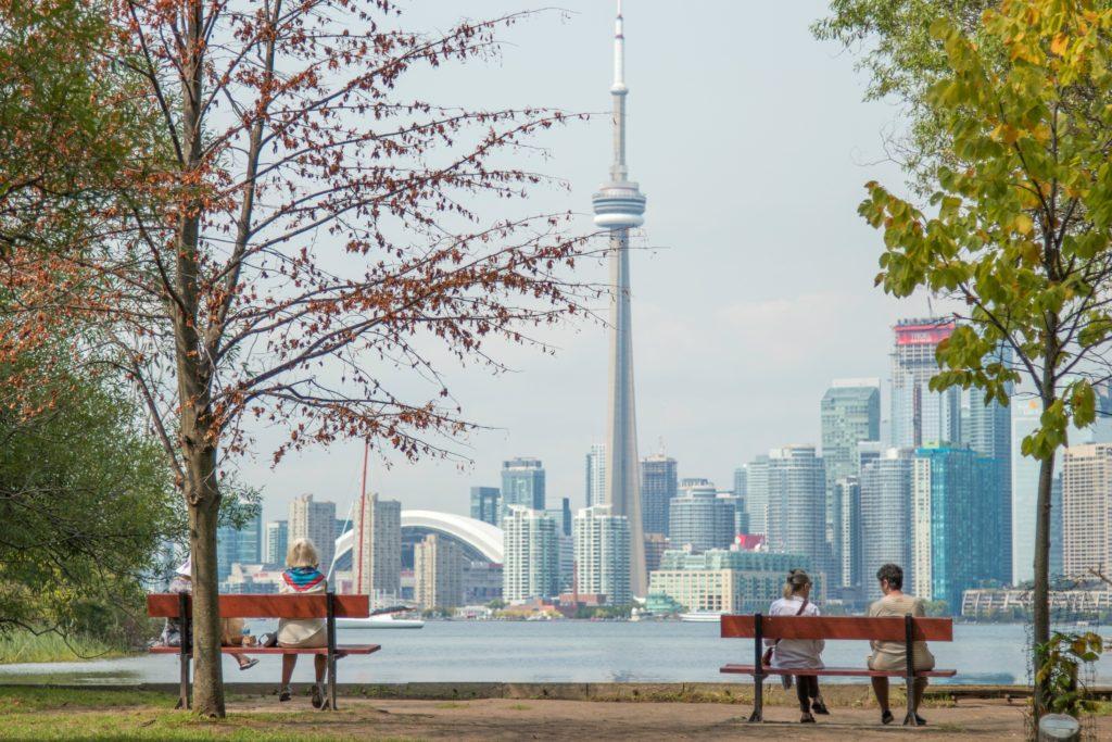 Toronto CN Tower view
