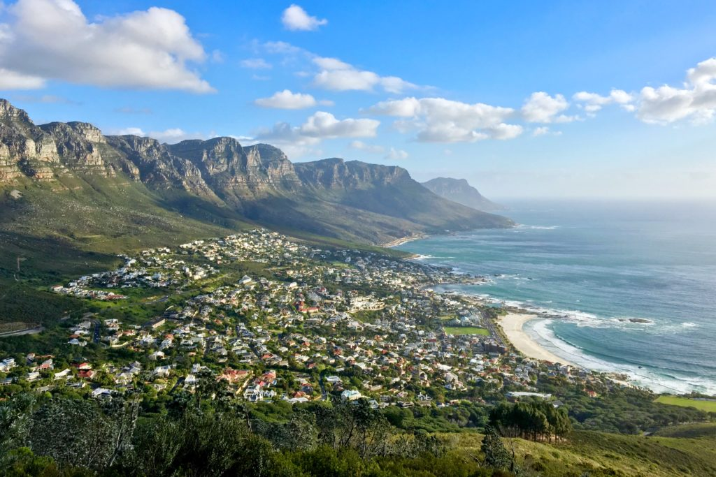 Views over Cape Town