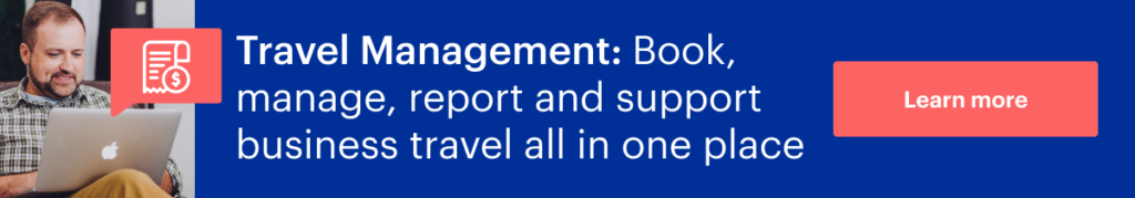 What's travel management