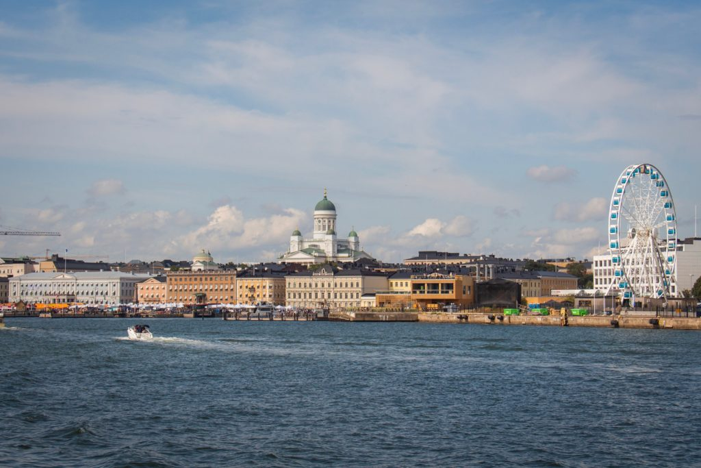 Helsinki sunny day views